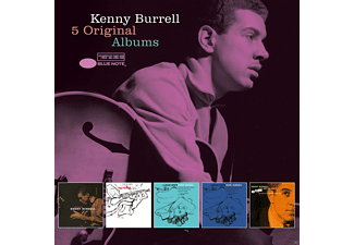 Kenny Burrell, VARIOUS - 5 Original Albums [CD]