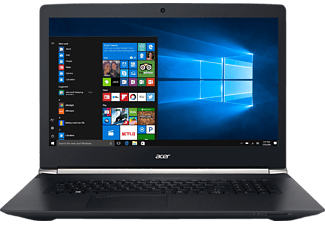 ACER Aspire V 17 Nitro Black Edition (VN7-792G-75DU), Notebook mit 17.3 Zoll Display, Core™ i7 Prozessor, 16 GB RAM, 256 GB SSD, 1 TB HDD, NVIDIA® GeForce® GTX 960M, Schwarz (Soft Touch)