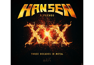 Hansen & Friends - XXX-Three Decades In Metal - (CD)
