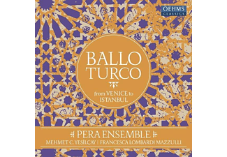 Pera Ensemble, VARIOUS - Ballo Turco: From Venice to Istanbul - (Vinyl)