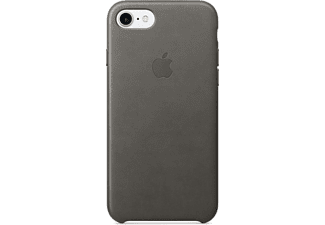 APPLE iPhone 7 Leather Case Storm Grey - (MMY12ZM/A)