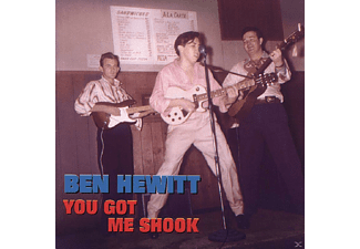 Ben Hewitt - You Got Me Shook [CD]