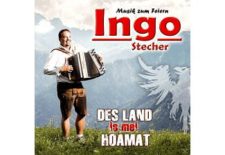 Ingo Stecher - Des Land is mei Hoamat - (CD)