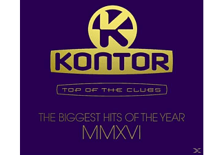 VARIOUS - Kontor Top Of The Clubs-Biggest Hits Of MMXVI [CD]