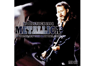 Metallica - Woodstock 1994 - Saugerties, New York Broadcast - (CD)