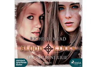Richelle Mead - Bloodlines Band 2: Die goldene Lilie [Hörbuch, MP3-CD]