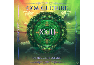 DJ Bim/DJ Jensson - Goa Culture Vol.23 - (CD)
