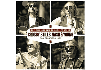 Crosby, Stills, Nash & Young - The Bill Graham Tribute Concert [CD]