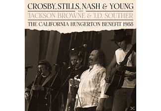 Crosby, Stills, Nash & Young - The California Hungerton Benefit 1988 - (Vinyl)