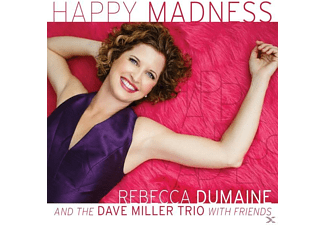 Rebecca Dumaine And The Dave Miller Trio - Happy Madness [CD]