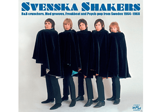 VARIOUS - Svenska Shakers-R'n'B Crunchers,Mod Grooves... [CD]