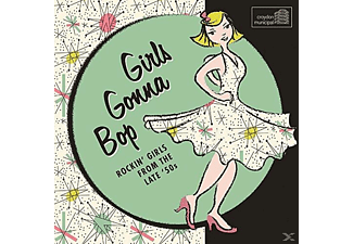 VARIOUS - Girls Gonna Bop/Rockin' Girls From The Late '50s - (CD)