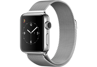 APPLE Watch Series 2 38mm roestvrij staal / Milanees bandje