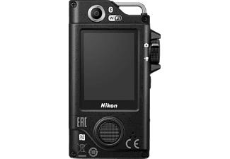 NIKON KeyMission 80 Actioncam, Bildstabilisator, WLAN, Near Field Communication, Schwarz