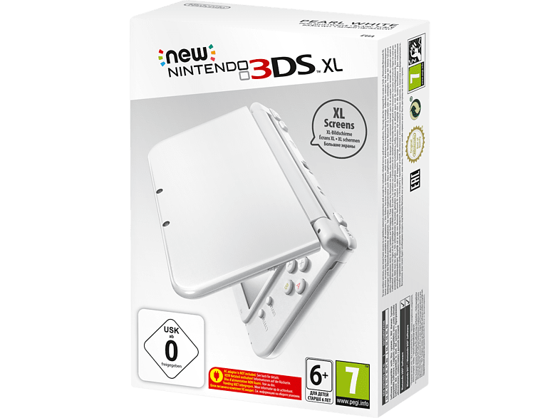 NINTENDO 3DS XL Pearl White (New) gaming φορητές κονσόλες κονσόλες 2ds  3ds