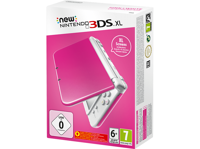 NINTENDO 3DS XL Pink White (New) gaming φορητές κονσόλες κονσόλες 2ds  3ds