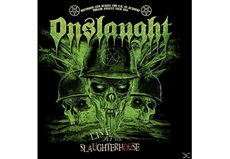 Onslaught - Live At The Slaughterhouse (Gtf.Red 2-Vinyl) - (Vinyl)