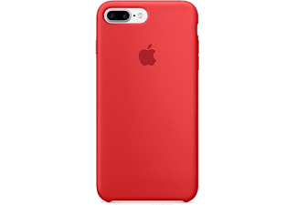APPLE iPhone 7 Plus Silicone Case (Product)Red - (MMQV2ZM/A)