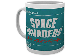 Space Invaders Tasse Diagramm