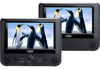 XORO HSD 7701 Tragbares DVD-Player Set Schwarz