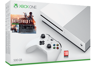 MICROSOFT Xbox One S 500GB Battlefield 1 Bundle - (ZQ9-00038)