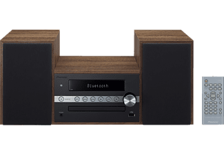 PIONEER X-CM56-B Hifi Kompaktanlage (CD, USB, Bluetooth-Streaming, Schwarz)