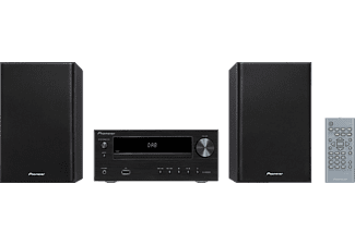 PIONEER X-HM26D-B Hifi Kompaktanlage (CD, USB, Bluetooth-Streaming, Schwarz)