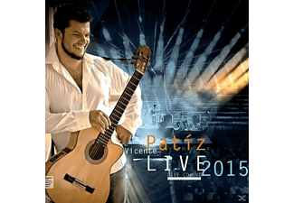 Vicente Patiz - Live 2015 - (DVD + CD)
