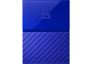 WD My Passport™, 1 TB HDD, 2.5 Zoll, extern, Blau