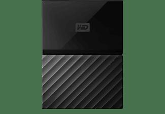 WD My Passport™, 1 TB, Schwarz, Externe Festplatte, 2.5 Zoll