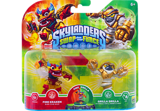 SKYLANDERS Skylanders Swap Force Double Pack 4 Spielfigur