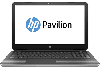HP Pavilion 15-au136ng, Notebook mit 15.6 Zoll Display, Core™ i5 Prozessor, 16 GB RAM, 1 TB HDD, 128 GB SSD, GeForce 940MX, Silber