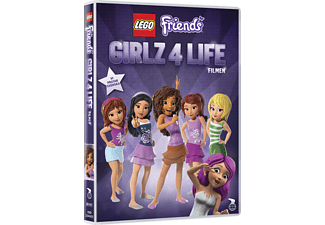 Lego Friends: Girlz 4 Life Animation / Tecknat DVD