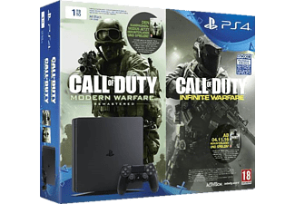 SONY PlayStation 4 1TB Slim + Code für Call Of Duty: Modern Warfare und Call Of Duty: Infinite Warfare
