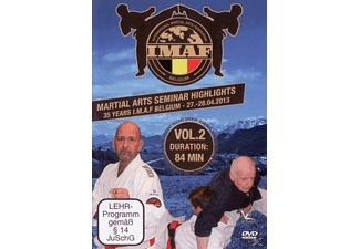 Martial Arts Seminar Highlights: 35 Years Imaf Belgium - Volume 2 - (DVD)