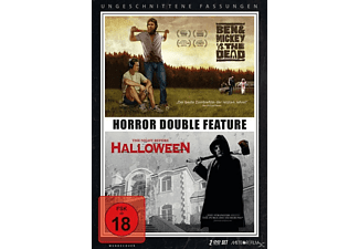DOUBLE HORROR FEATURE: BEN & MICKEY VS. THE DEAD - THE NIGHT BEFORE HALLOWEEN - (DVD)