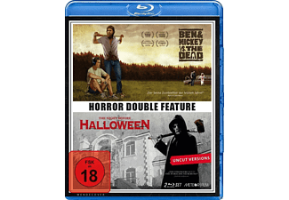 DOUBLE HORROR FEATURE: BEN & MICKEY VS. THE DEAD - THE NIGHT BEFORE HALLOWEEN (BLU-RAY) [Blu-ray]