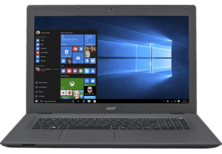ACER Aspire E 17 (E5-773G-73B0), Notebook mit 17.3 Zoll Display, Core™ i7 Prozessor, 4 GB RAM, 500 GB HDD, GeForce 920M, Schwarz/Grau