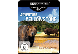 Adventure Yellowstone - (4K Ultra HD Blu-ray)