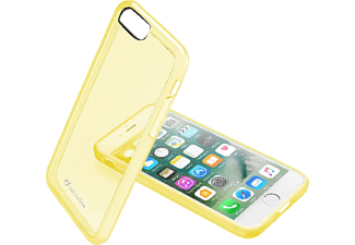 CELLULAR LINE CLEAR COLOR, Backcover, iPhone 7, Kunststoff, Gelb