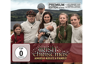 Angelo & Family Kelly - Irish Christmas Premium Edition - (CD + DVD)