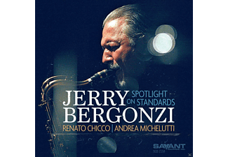 Jerry Bergonzi, Renato Chicco, Andrea Michelutti - Spotlight On Standards - (CD)