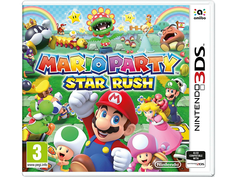 Mario Party: Star Rush gaming φορητές κονσόλες games 2ds  3ds