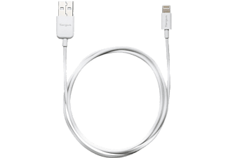 TARGUS Lightning To USB Charging Cable - 1m White - (ACC96101EU)