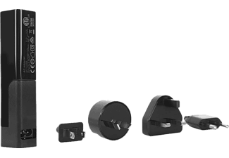 TARGUS 4 Way USB Interchangeable AC Plugs Tablet Charger Black - (APA750EU)