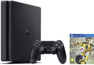 SONY Nya PlayStation 4 Slim (Inkl FIFA 17) - 1 TB