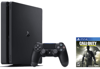 SONY Playstation 4 Slim (Inkl. Call of Duty - Infinite Warfare) - 1 TB
