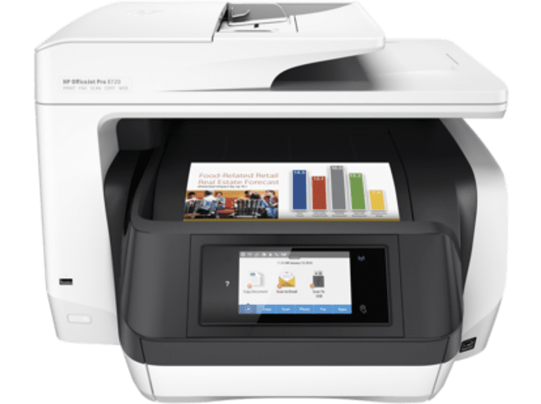 HEWLETT PACKARD Officejet Pro 8720 All-in-One Printer - Business Inkjet Πολυμηχά laptop  tablet  computing  εκτύπωση   μελάνια πολυμηχανήματα sales