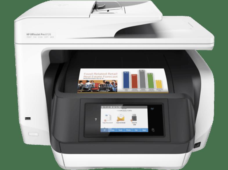 HEWLETT PACKARD Inkjet πολυμηχάνημα - Officejet Pro 8720 All-in-One Printer laptop  tablet  computing  εκτύπωση   μελάνια πολυμηχανήματα sales