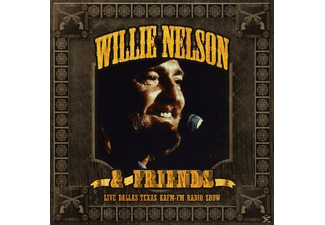 Willie / Friends Nelson - Live-Dallas Texas Kafm-Fm Radio Show - (CD)